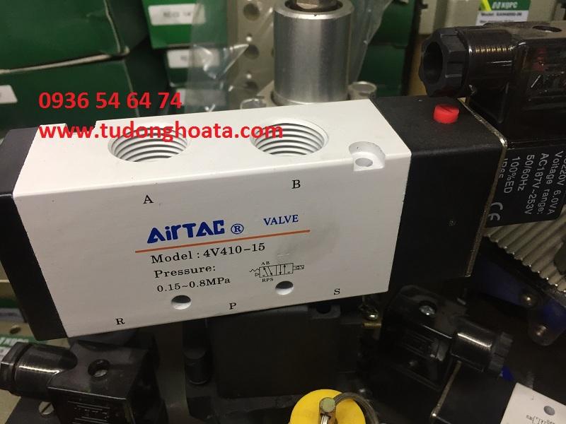 Van khí nén 4V110-06, 4V210-08, 4V310-10, 4V410-15