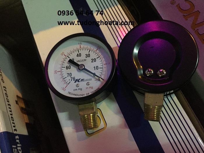 Đồng hồ đo chân không 760 mm Hg