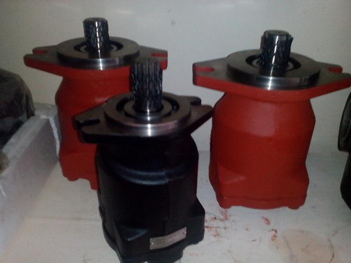 Sửa chữa, phục hồi motor thủy lực piston quấn cáp xe cẩu