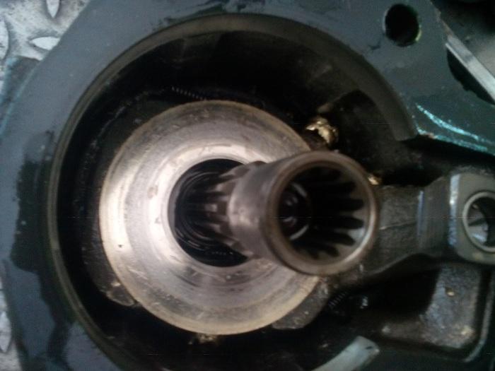 sửa chữa, thay thế ruột bơm thủy lực piston