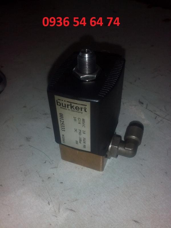van khí nén điện từ Burkert