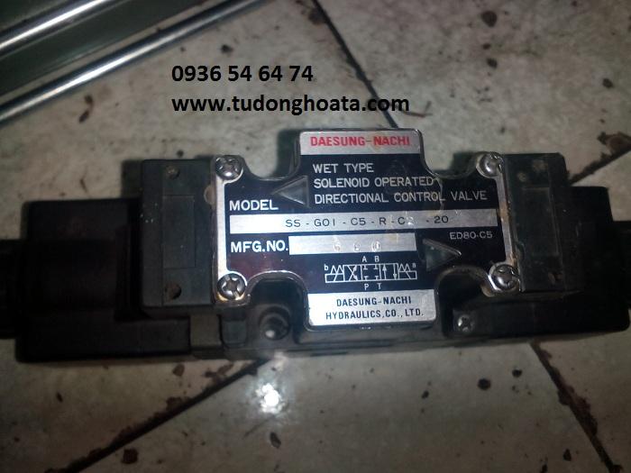 van thủy lực điện từ DSG-01-3C2, DSG-03-3C2-220V/110V/24V