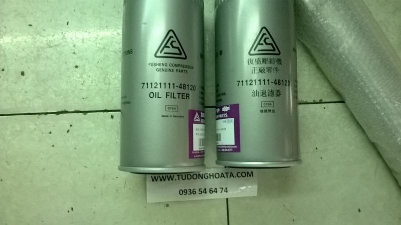 lọc dầu máy nén khí trục vít Fusheng