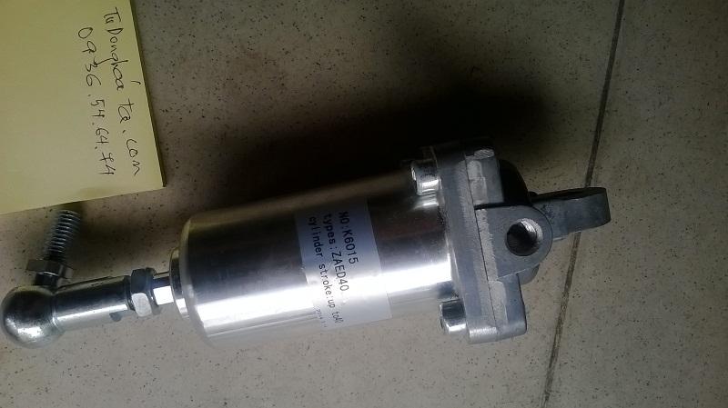 Xi lanh khí nén lắp cho máy nén khí trục vít ZAED40