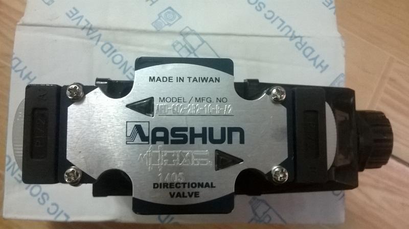 Van thủy lực Ashun AHD-G02-2B2-10, AHD-G03-2B2-10